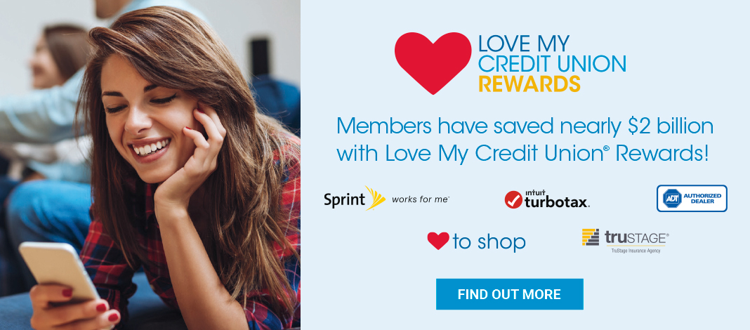 Love My Credit Union image banner with link to the Love My Credit Union website