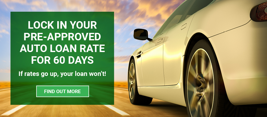 Image of car driving fast with Groove Car auto loan promotion