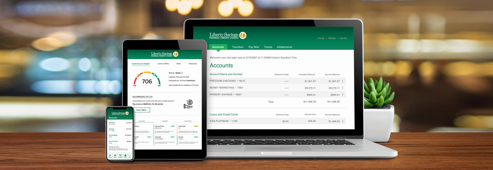 LibertyLink Online Banking – Liberty Savings Federal Credit Union